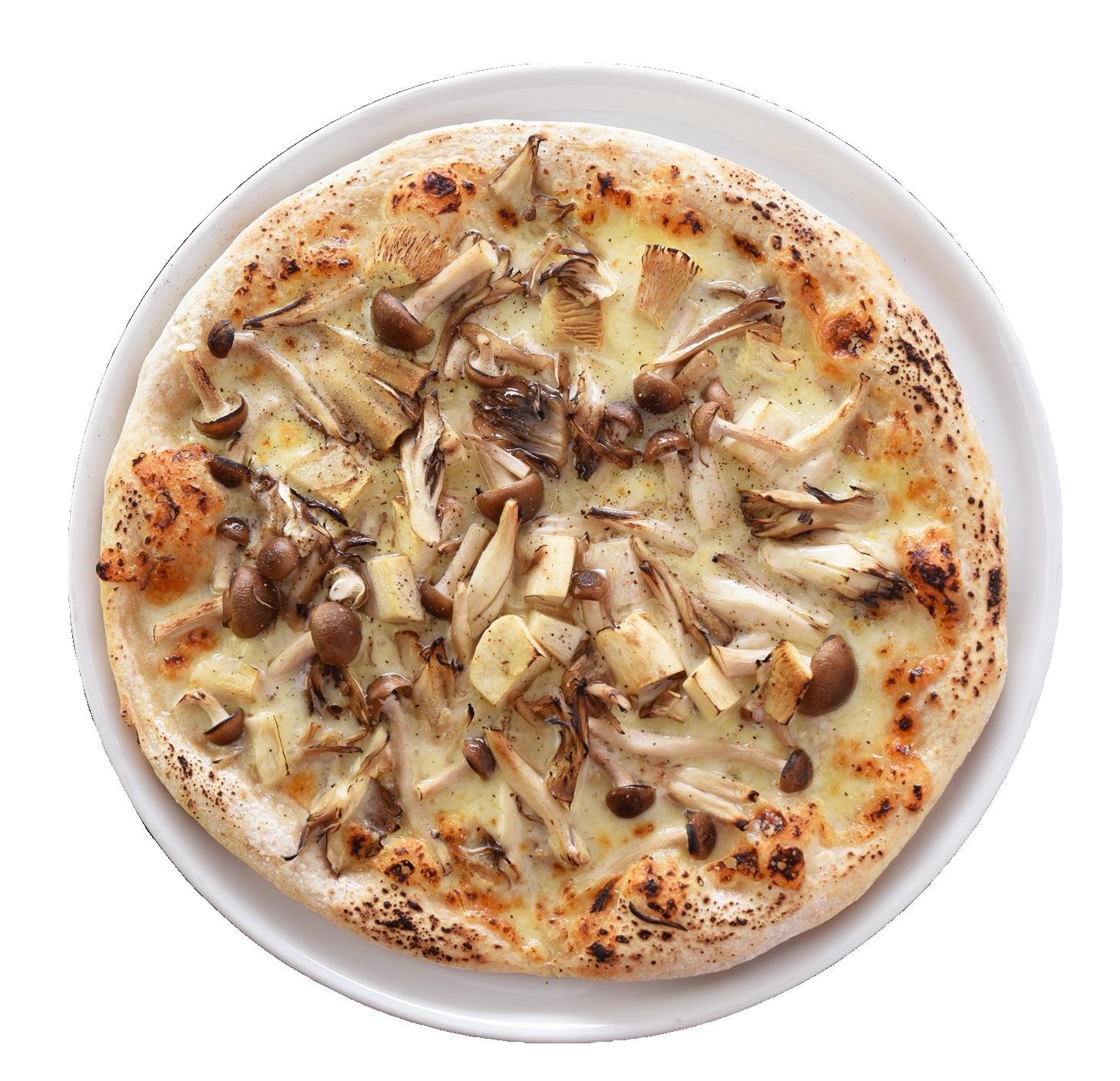 やさいたっぷり菜園風ピザ